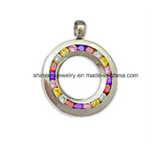 Fashion CZ Stones Necklace Pendant (SPT3027)