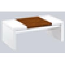 Mesinha de noz mesa de café mesa de café de madeira MDF mesa de café