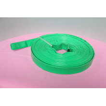 Jaune jaune / bleu / rouge d'irrigation de pompe à haute pression flexible d'eau de pompe placent le tuyau plat / tuyau / tube