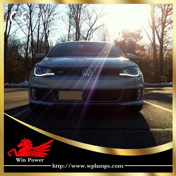 2012-2013 Volkswagen Jetta MK6 Headlamps - Bossgoo.com