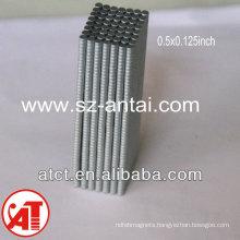 Neodymium round magnets D1/2 X1/8 inch