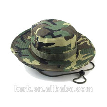 LINGSHANG custom wholesale fisherman cap Camo sun Summer cool Fishing Camping Cheap Bucket fishing Hat