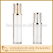 perfume bottle with Acrylic airless bottle with screw