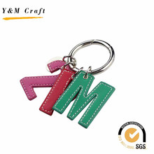 Wholesale Blank PU Leather Key Ring for Fans Club