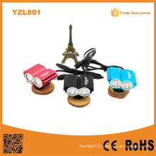 Owl Eye Design Yzl801 Black/Blue/Red High Power 1000lumens 2* Xm-L2 T6 Solarstorm X2 Bicycle Light