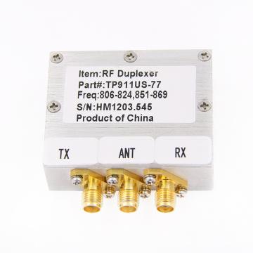 высокое качество 806-824MHz 851-869MHz GSM и УКВ дуплексер полости