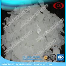 Escamas de sulfato de aluminio para tratamientos de agua