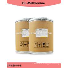 Fabriquer une poudre de DL-méthionine de haute qualité pour la volaille