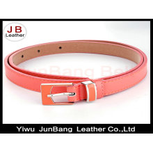 Lovely Design Enamel Lady PU Belt