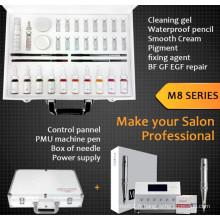 Kit de maquillage permanent tatouage numérique Série M8
