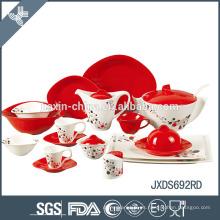 conjunto de cena de porcelana fina excitante de mejor calidad