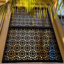 Dekoratif Aluminium Laser Cut Metal Screens