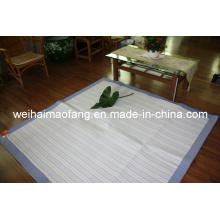 Manta de bebé de tejido de algodón para el hogar y decoración/oración Mat (NMQ-WCPT001)