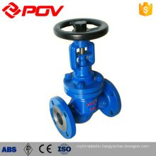 manual stainless steel globe valve