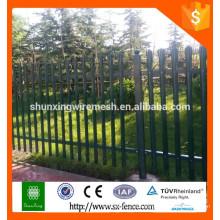 Diseño de la cerca del hierro de Alibaba / cerca barata del hierro labrado / valla usada del hierro labrado