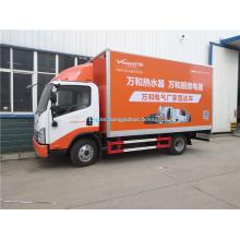 Nuevos productos led camión de publicidad de pantalla de coche