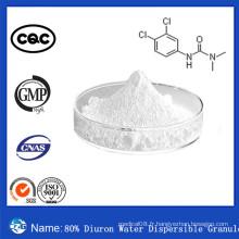 80% Effet rapide 330-54-1 Herbicide agrochimique Wp Diuron