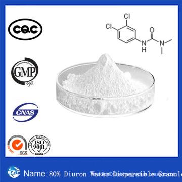 CAS No. 330-54-1 China Best Selling 80% Agroquímica Herbicida Diuron Água Dispersível Granulado