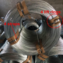 500kg electro galvanized iron wire 3.4mm