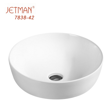 JM7838 420*420*135 Fashion Counter Countertop Art Basin