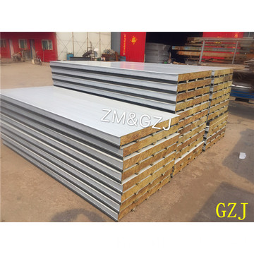 Rockwool Insulation External Wall Board Sandwich Pannel