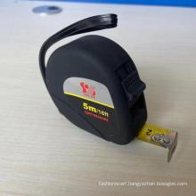 Black velveteen plastic shell steel tape