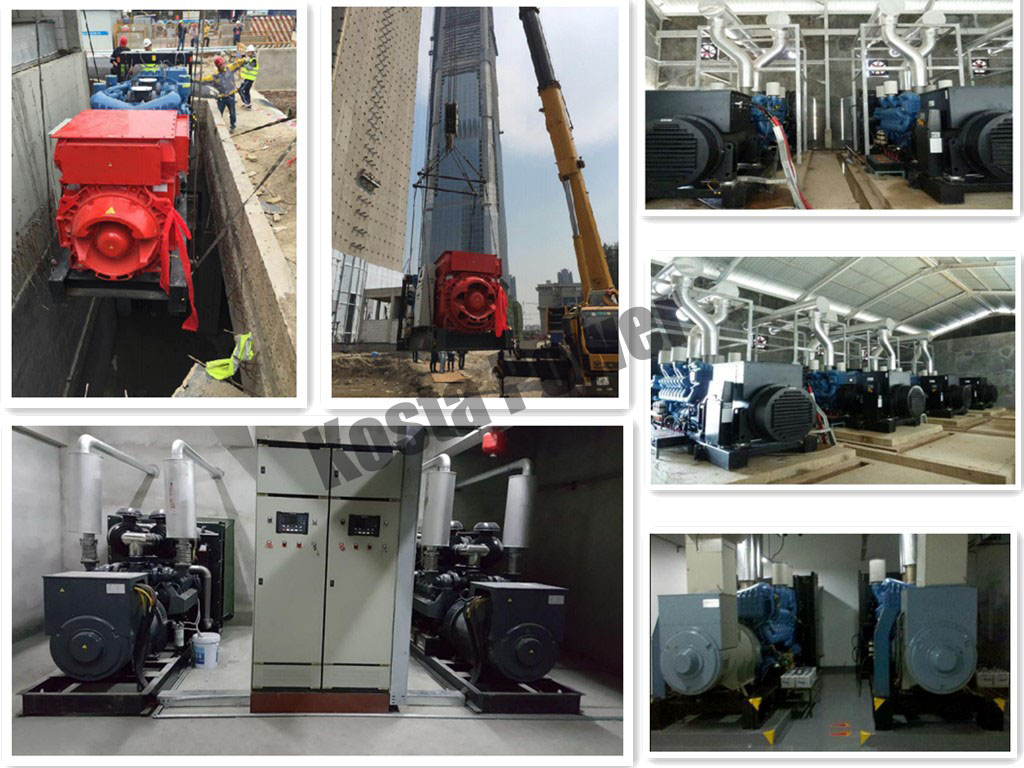 genset application area