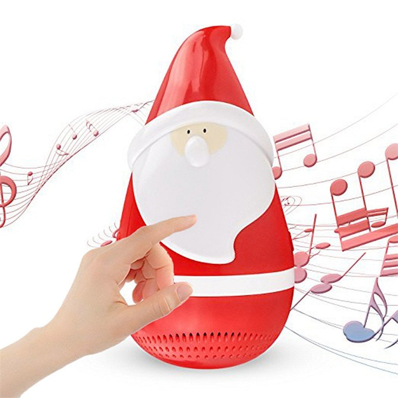 Christmas bluetooth speaker