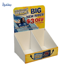 Retail cardboard book counter display/ cardboard countertop book display stands/ counter cardboard book display stands