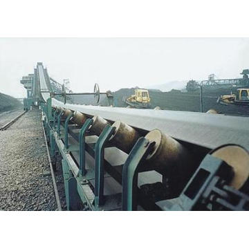 Mine, Stone, Sand Cement Fabric Nylon Nn Ep Cc56 Tc70 Steel Cord Black Rubber Conveyor Belt / Belt Conveyor