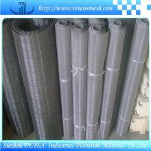 Malha de filtro de aço inoxidável usada para alimentação
