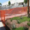 Gebäudegebrauch orange Sicherheitswarnungszaun / Plastiksicherheitszaun
