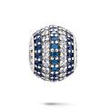 Bijoux Cristal en Cristal Bijoux en Perles Argentés pour Bracelet Européen