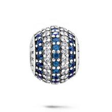 Perles de bijoux à la mode 925 Perles d'argent avec bijoux CZ