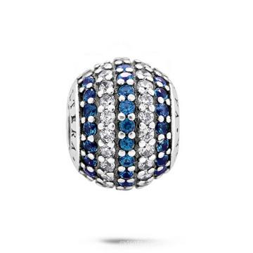 Модные ювелирные изделия Бусины 925 Серебряные бусины с CZ Jewellery