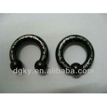 Piercing à l'ancre à anneaux en acier inoxydable à anneaux en acier inoxydable