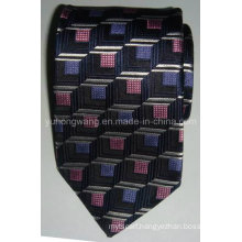 Fashionable Men Silk Woven Jacquard Necktie