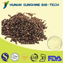 extraction piperine black pepper Piper nigrum L. 10%-98% Piperine