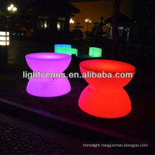 led furniture/table club lighting with remote controller