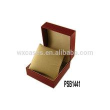 caja de reloj de cuero de alta calidad para el reloj solo ventas por mayor