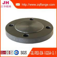 Carbide Steel Blind Flanges Flange forjada em estoque