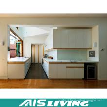 Folheado com mobília de mármore do armário de cozinha (AIS-K204)