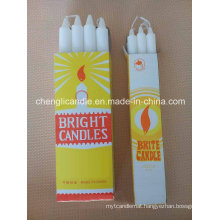 Pure Paraffin Wax White Church Candle Wholesale
