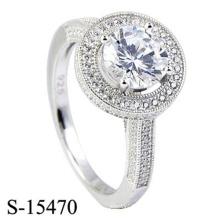 Мода 925 Серебряное Кольцо Ювелирных Изделий