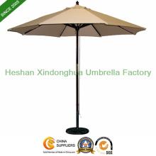 2.5m Garden Wooden Umbrella for Cafe (PU-02025A)