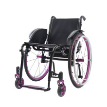 Light Weight Manual Steel Folding Wheelchair for Elderly