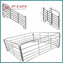 1.8M Height Galvanized Livestock Panel
