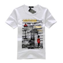 Projeto quente da camisa dos homens T da venda