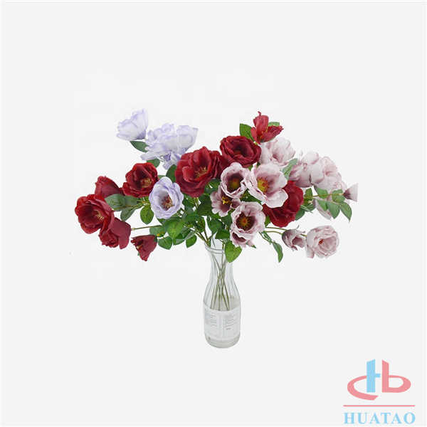 Wholesale-Christmas-silk-papaver-rhoeas-dried-artificial