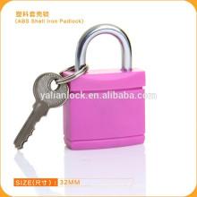 2015 Yalian moda estilo ABS shell rosa ferro cadeado 0125